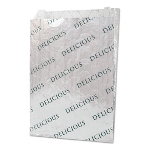Bagcraft Foil Paper Honeycomb Insulated Bag  2   8  x 6   White  1 000 Carton (BGC 300519)
