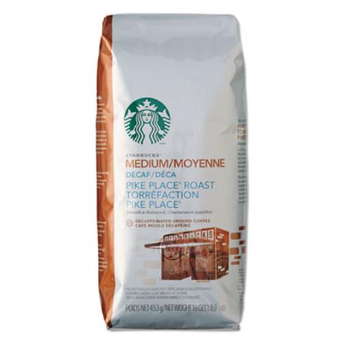 Starbucks Coffee  Ground  Pike Place Decaf  1lb Bag (SBK11029358)
