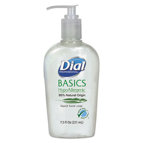 Dial Professional Basics Liquid Hand Soap  7 5 oz  Fresh Floral (DIA06028)