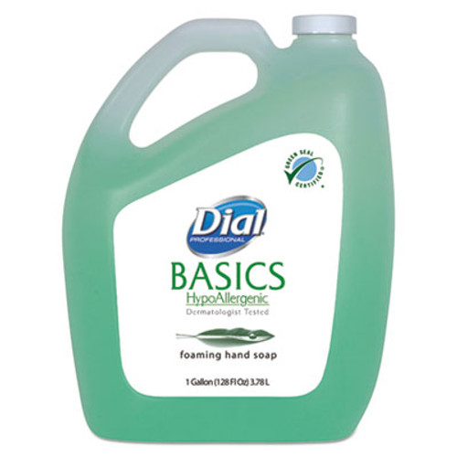 Dial Professional Basics Foaming Hand Soap  Original  Honeysuckle  1 gal Bottle (DIA98612)