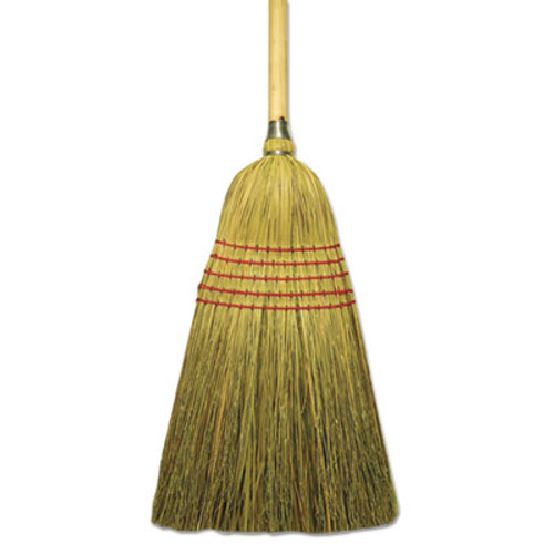 Boardwalk Corn Fiber Lobby Brooms  53 5   Natural  6 Carton (BWK BR10004)