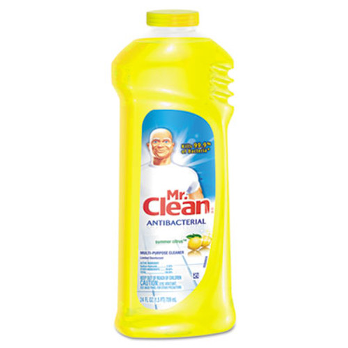 Mr. Clean Multi-Surface Antibacterial Cleaner, Summer Citrus, 24 oz Bottle (PGC82707)