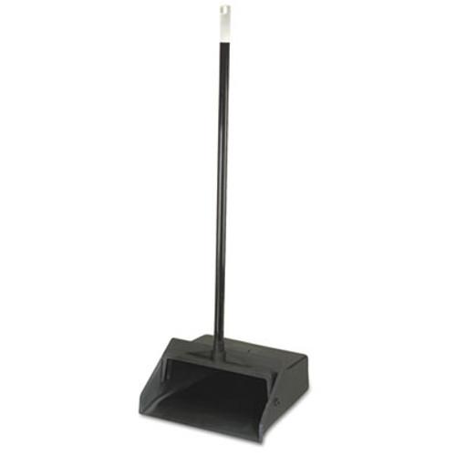 Carlisle Duo-Pan        Upright Lobby Pan  Plastic  12  Wide  30  Handle  Black (CFS361410)