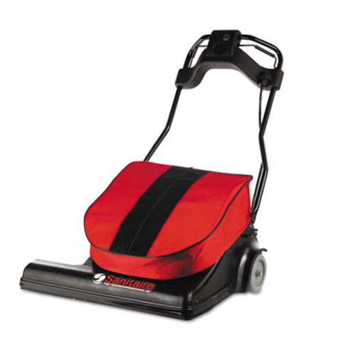 Sanitaire Wide Area Vacuum, 74 lbs, Red (EUR SC6093)
