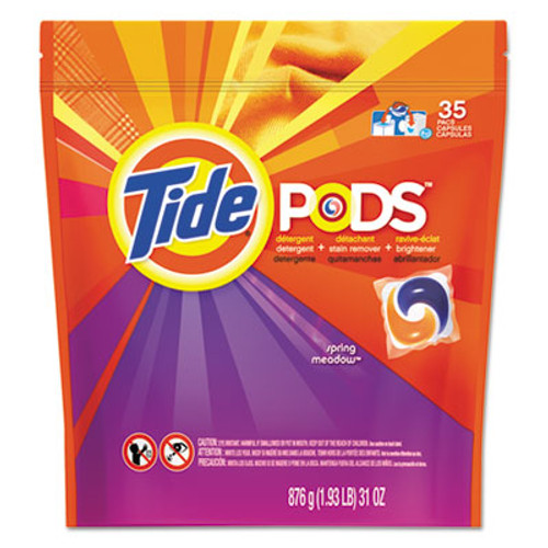 Tide Pods  Laundry Detergent  Spring Meadow  35 Pack (PGC 89261CT)