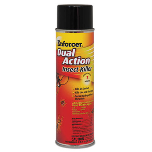 Enforcer Dual Action Insect Killer  For Flying Crawling Insects  17oz Aerosol 12 Carton (AMR1047651)