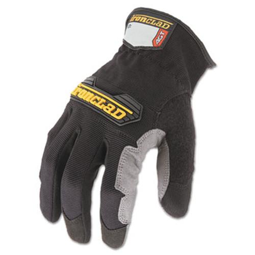 Ironclad Workforce Glove  Medium  Gray Black  Pair (IRNWFG03M)