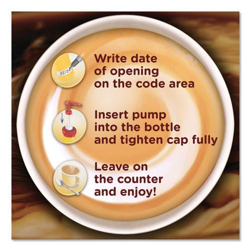 Coffee mate Liquid Coffee Creamer  Hazelnut  1 5 Liter Pump Bottle  2 Carton (NES 31831CT)