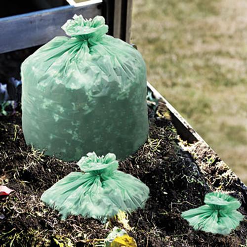 Stout by Envision EcoSafe-6400 Bags  48 gal  0 85 mil  42  x 48   Green  40 Box (STO E4248E85)