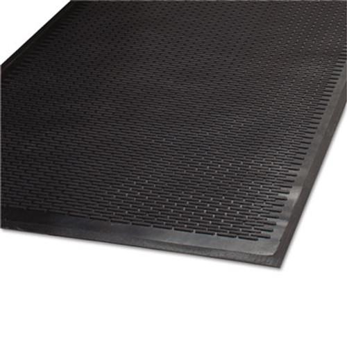 Guardian Clean Step Outdoor Rubber Scraper Mat  Polypropylene  36 x 60  Black (MLL14030500)