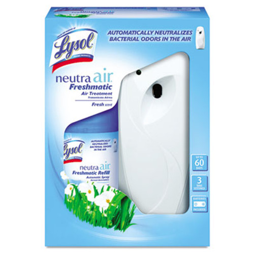 LYSOL NEUTRA AIR FRESHMATIC Starter Kit, Fresh Scent 6.17 oz (RAC79830)