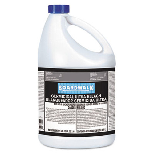 Boardwalk Ultra Germicidal Bleach, 1 Gallon Bottle, 6/carton (BWK 340-6)