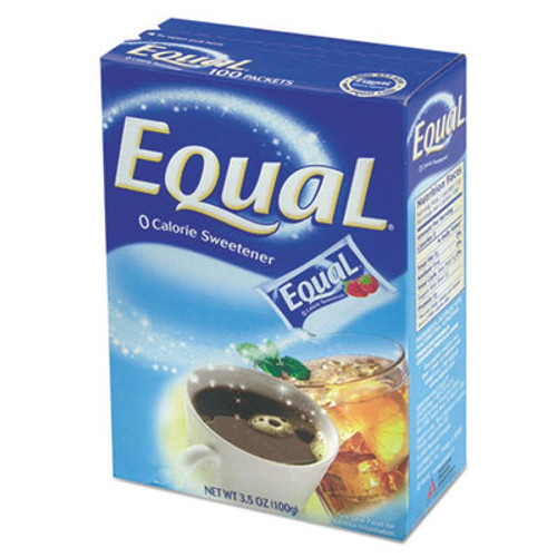 Equal Zero Calorie Sweetener  1 g Packet  115 Box (OFS 20015445)