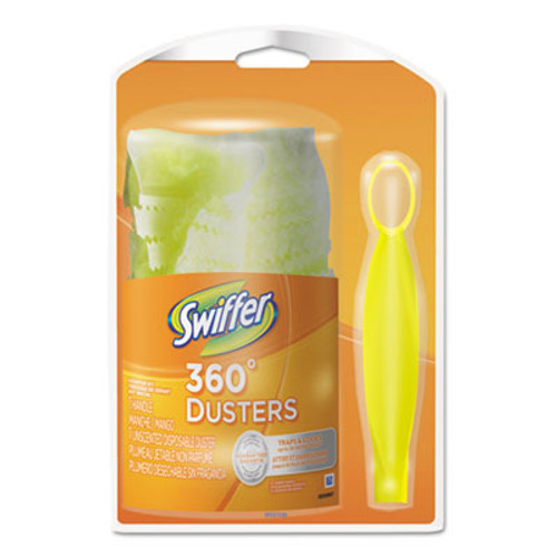 Swiffer Heavy Duty Duster Starter Kit  Handle with One Disposable Duster (PGC16942)