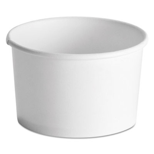 Chinet Squat Paper Food Container  Streetside Design  8-10oz  White  50 Pack  20 CT (HUH 71037)