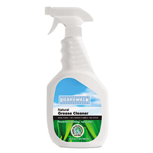Boardwalk Boardwalk Green Grease and Grime Cleaner, 32 oz Spray Bottle (BWK 376-12)