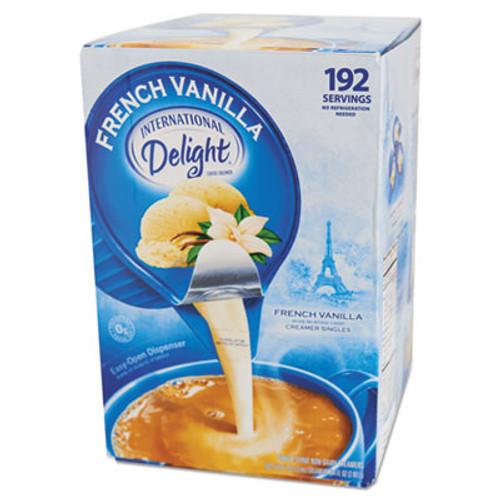 International Delight Flavored Liquid Non-Dairy Coffee Creamer  French Vanilla  0 4375 oz Cups  192 CT (ITD827981)