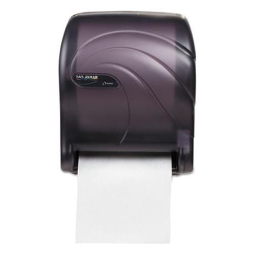 San Jamar Tear-N-Dry Essence Touchless Towel Dispenser  11 75x9 1 8x14 7 16  Black Pearl (SJMT8090TBK)