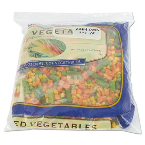 Boardwalk Reclosable Food Storage Bags  1 gal  2 7 mil  10 5  x 11   Clear  250 Box (BWK 1GALFZRBAG)