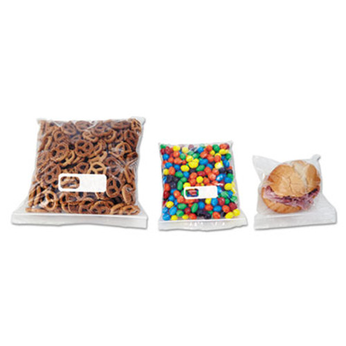 Boardwalk Reclosable Food Storage Bags  1 gal  2 7 mil  10 5  x 11   Clear  250 Box (BWK 1GALFZRBAG)