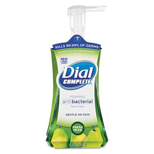 Dial Antibacterial Foaming Hand Wash  Fresh Pear  7 5 oz Pump Bottle (DIA02934)