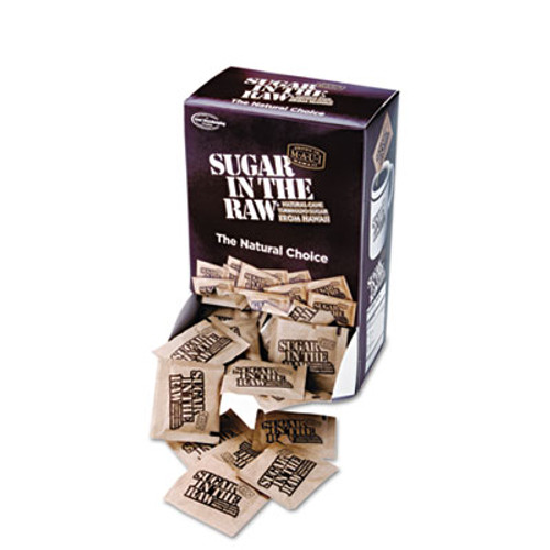 Sugar in the Raw Unrefined Sugar Made From Sugar Cane  200 Packets Box  2 Boxes Carton (SMU 00319CT)
