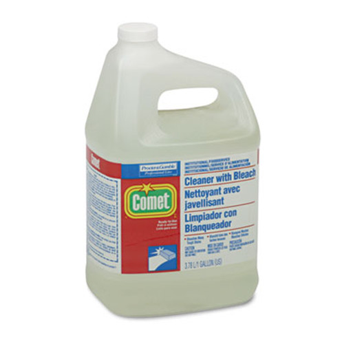 Comet Cleaner with Bleach  Liquid  One Gallon Bottle (PGC 02291CT)