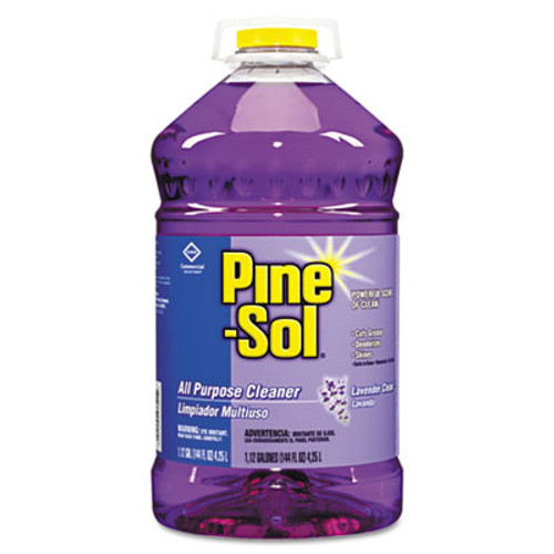 Pine-Sol All-Purpose Cleaner, Lavender, 144 oz, 3 Bottles/CT (CLO97301)