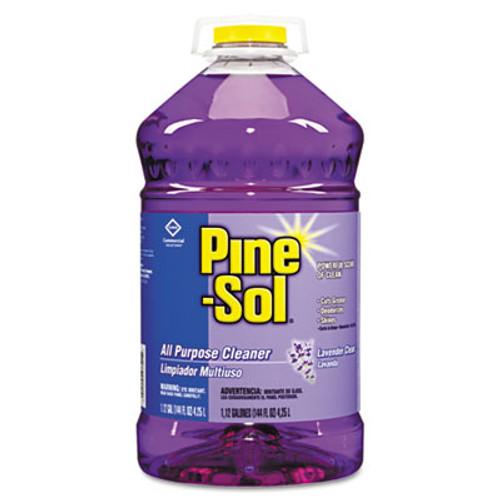 Pine-Sol All Purpose Cleaner  Lavender Clean  144 oz Bottle  3 Carton (CLO97301)