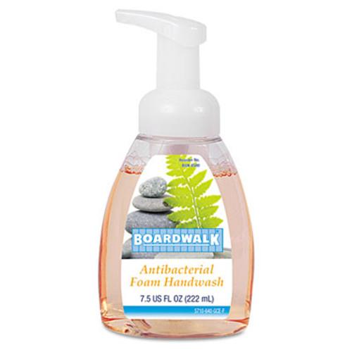Boardwalk Antibacterial Foam Hand Soap  Fruity  7 5 oz Pump Bottle (BWK8600EA)