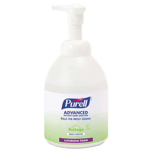 PURELL Advanced Green Certified Instant Hand Sanitizer Foam, 535 ml Bottle (GOJ 5791-04)