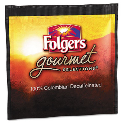 Folgers Gourmet Selections Coffee Pods  100  Colombian Decaf  18 Box (FOL63101)