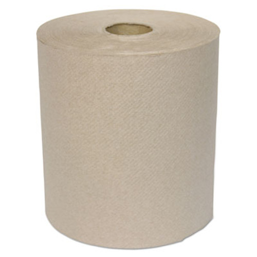 GEN Hardwound Roll Towels  1-Ply  Kraft  8  x 700 ft  6 Carton (GEN 1826)