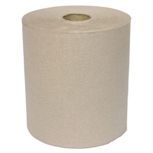 GEN Hardwound Roll Towels  1-Ply  Kraft  8  x 700 ft  6 Carton (GEN 1826)