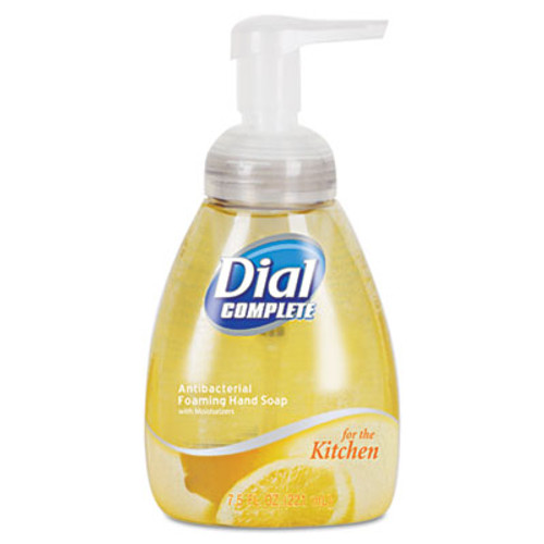 Dial Professional Antimicrobial Foaming Hand Wash  Light Citrus  7 5 oz Pump Bottle  8 Carton (DIA 06001CT)