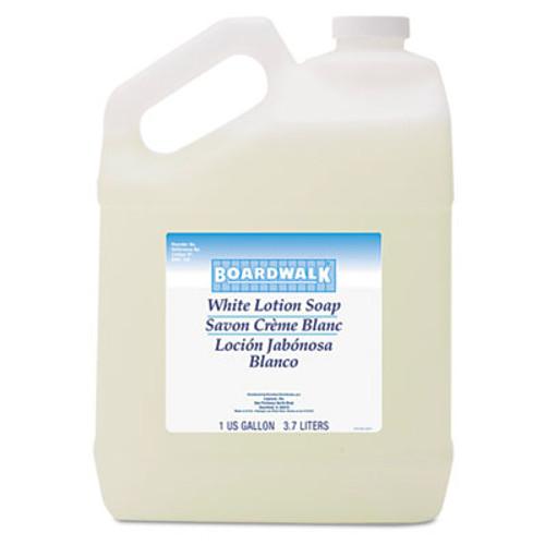 Boardwalk Mild Cleansing Lotion Soap  Floral Scent  Liquid  1 gal Bottle  4 Carton (BWK420CT)