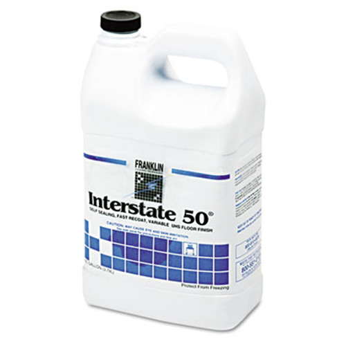 Franklin Cleaning Technology Interstate 50 Floor Finish  1gal Bottle  4 Carton (FKLF195022CT)