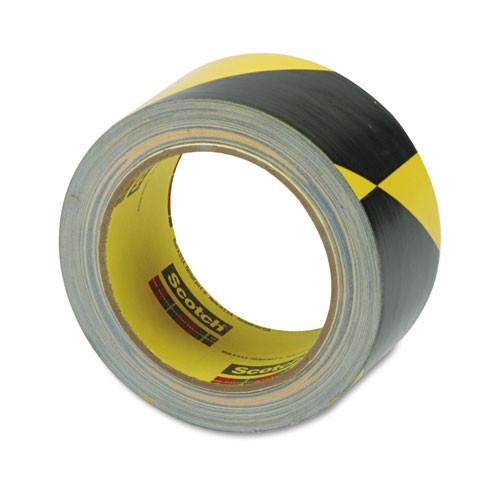 3M Caution Stripe Tape  2w x 108 ft Roll (MMM57022)