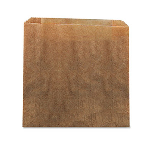 HOSPECO Waxed Kraft Liners  10 5  x 9 38   Brown  250 Carton (HOS6141)