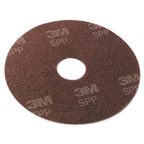 Scotch-Brite Surface Preparation Pad  20  Diameter  Maroon  10 Carton (MMMSPP20)