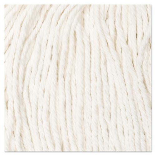 Boardwalk Cut-End Wet Mop Head  Cotton   16  White  12 Carton (UNS2016CCT)