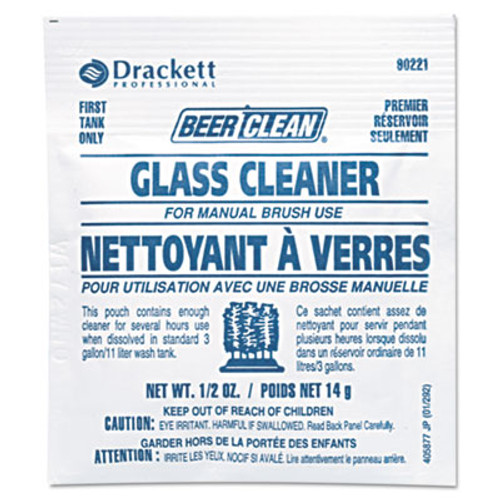 Diversey Beer Clean Glass Cleaner  Powder   5oz Packet  100 Carton (DVO990224)
