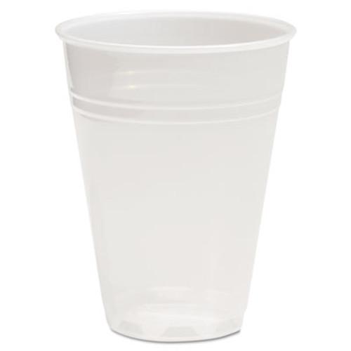 Boardwalk Translucent Plastic Cold Cups  7 oz  Polypropylene  25 Cups Sleeve  100 Sleeves Carton (BWKTRANSCUP7CT)