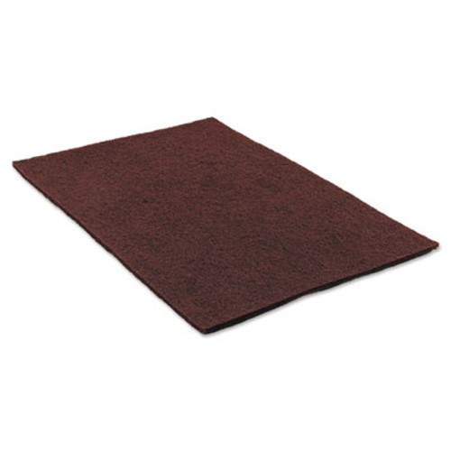 Scotch-Brite Surface Preparation Pad Sheets  14  x 20   Maroon  10 Carton (MMM02590)