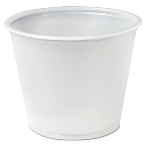 Dart Plastic Souffl    Portion Cups  5 1 2 oz   Translucent  250 Bag (DCCP550N)