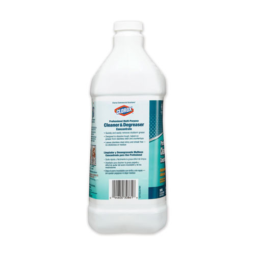 Clorox Professional Multi-Purpose Cleaner and Degreaser Concentrate  1 gal  4 Carton (CLO30861CT)