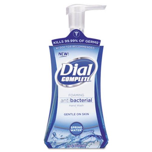 Dial Antibacterial Foaming Hand Wash  Spring Water  7 5 oz  8 Carton (DIA05401CT)