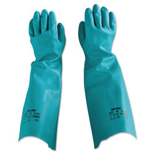 AnsellPro Sol-Vex Nitrile Gloves  Size 9 (ANS371859PR)