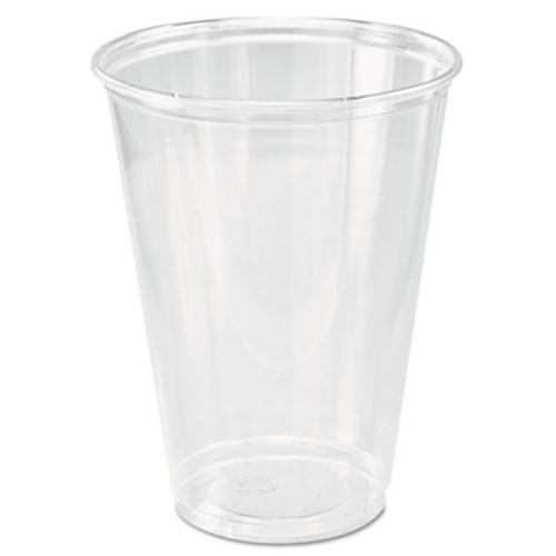 Dart Ultra Clear Cups  Tall  10 oz  PET  50 Bag  1000 Carton (DCCTP10DCT)