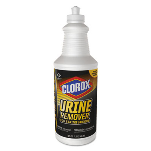 Clorox Urine Remover for Stains and Odors  32 oz Pull top Bottle  6 Carton (CLO31415)